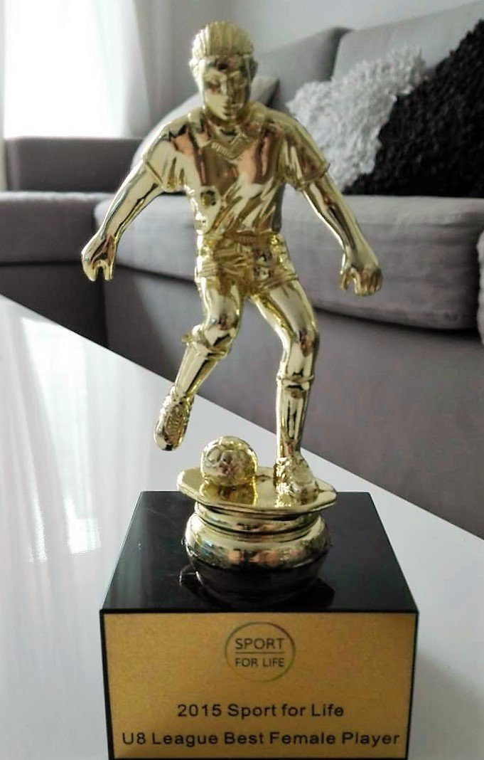 Zoely - U8 League Best Female Player - 2015 Sport for Life