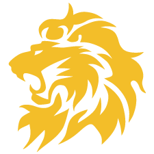 yellow lion logo