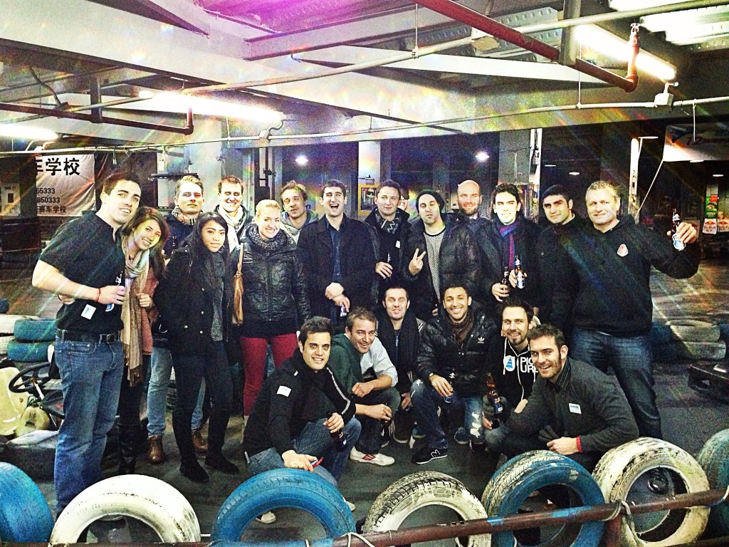 Shanghai Lions Go Karting for Chinese New Year