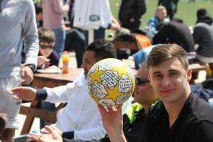 BIG John with ball