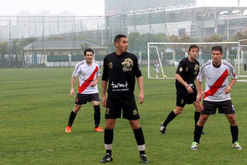 [ SIFL ] Shanghai Lions 6-2 Big Bamboo Shanghai Shooters AFC - 2014-04-013